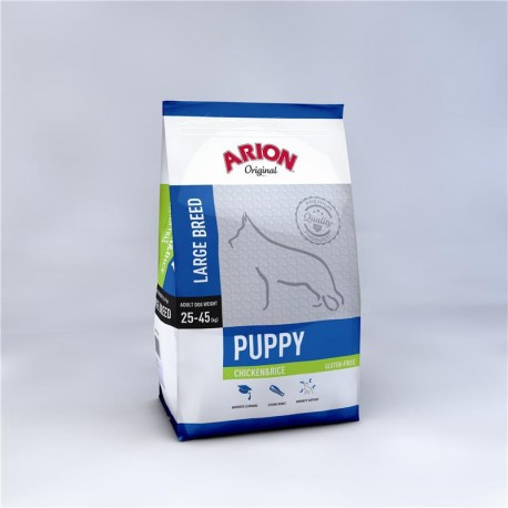 Pienso Arion ORIGINAL Puppy Large Chicken&Rice 12kg